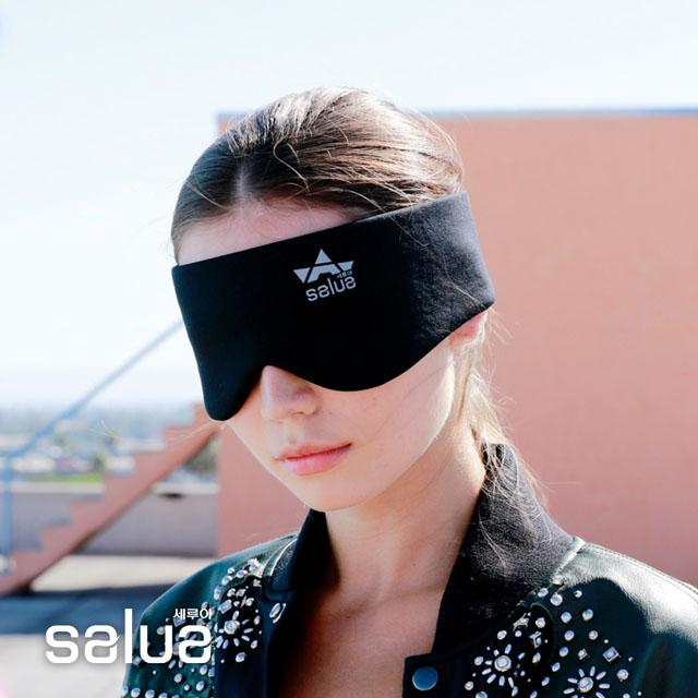 【salua 韓國進口】鍺元素按摩眼罩 - 酷型款