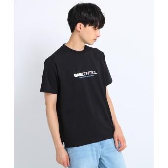 BASE CONTROL(ベースコントロール) ロゴプリントTシャツ