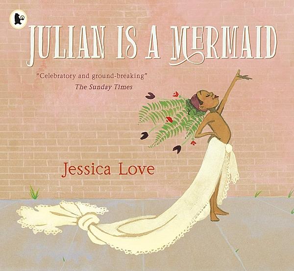 【英國繪本】JULIAN IS A MERMAID(波隆那年度插畫得獎作品) by Jessica Love《主題: 自我認同.性別平權》