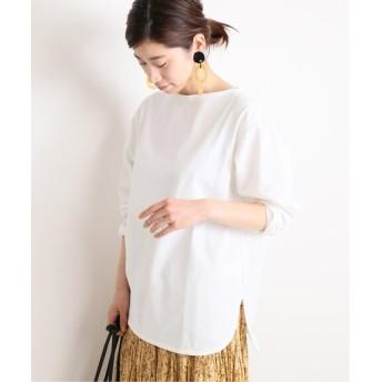 VERMEIL par iena バスクシャツ◆ ホワイト フリー