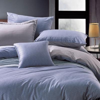 鴻宇 100%美國精梳棉 300織 班尼迪克 雙人四件式薄被套床包組