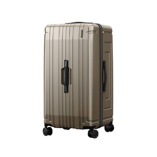【哇哇蛙】BERMAS戰艦系列 30吋耐磨超輕大容量行李箱 鈦金色 無拉桿設計 胖胖箱 旅行箱 出國箱 代購箱