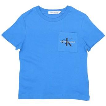 《セール開催中》CALVIN KLEIN JEANS ボーイズ 9-16 歳 T シャツ アジュールブルー 10 コットン 100%