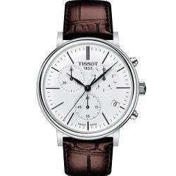 天梭 TISSOT CARSON 計時時尚男錶(T1224171601100)