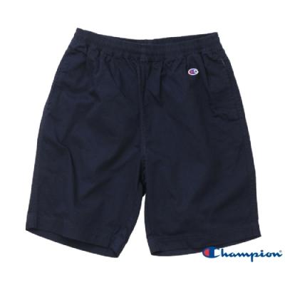 Champion Basic 斜紋休閒短褲 深藍