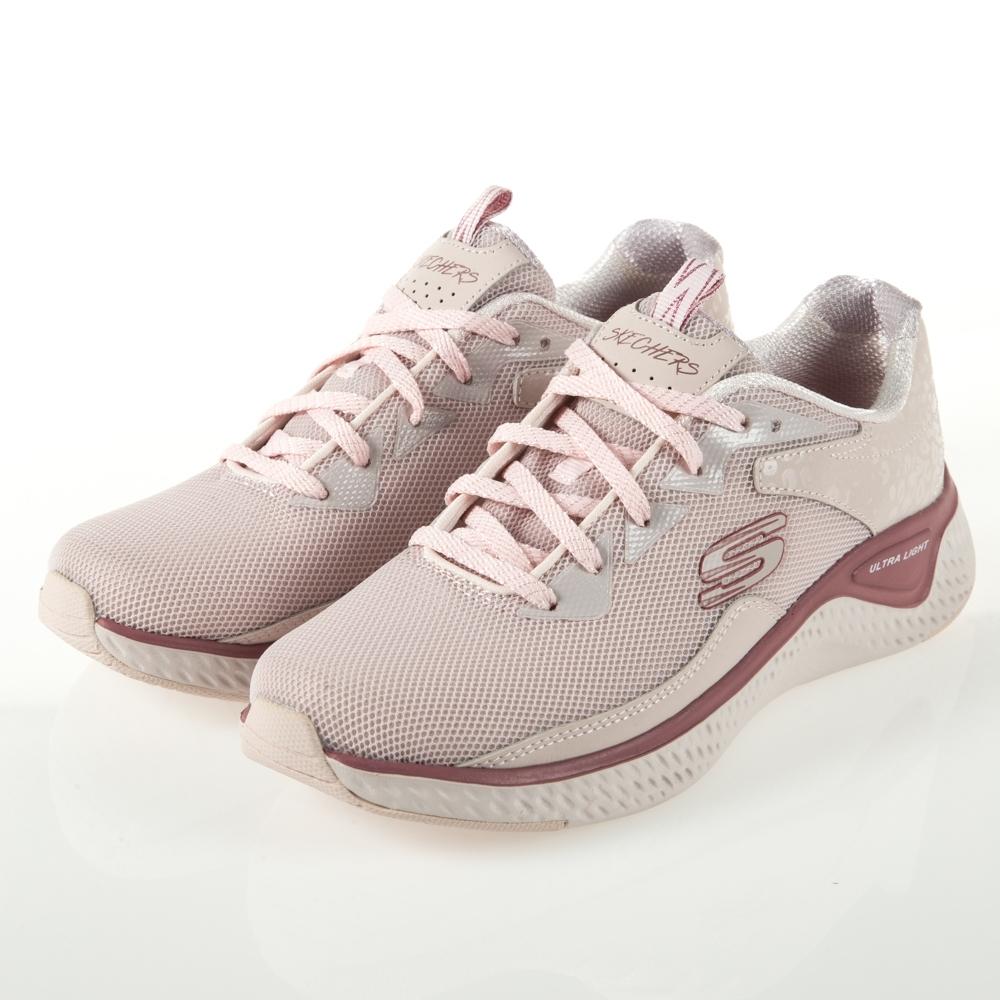 SKECHERS 女運動鞋 SOLAR FUSE 13327LTPK