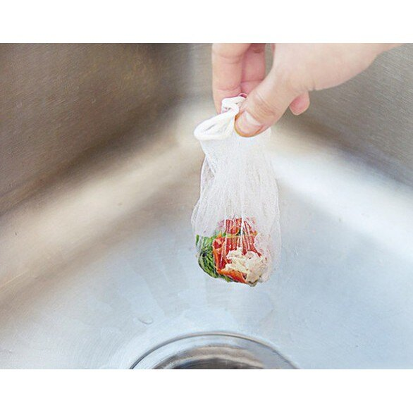 廚房水槽過濾網 洗碗洗蝶洗盤過濾雜質超好用 避免水管阻塞(100入裝)