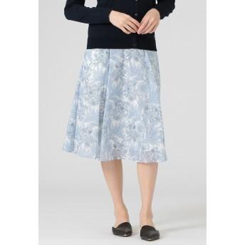 MACKINTOSH LONDON 【BIBURY FLOWER】カルゼスカート その他 スカート,ブルー
