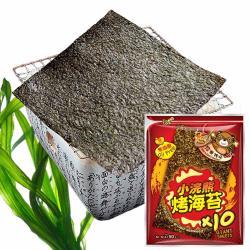 【稑珍】小浣熊零油脂烤海苔-經典麻辣 5gx10片/包