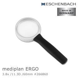 【德國 Eschenbach】3.8x/11.3D/60mm mediplan ERGO 德國製齊焦非球面放大鏡 266860