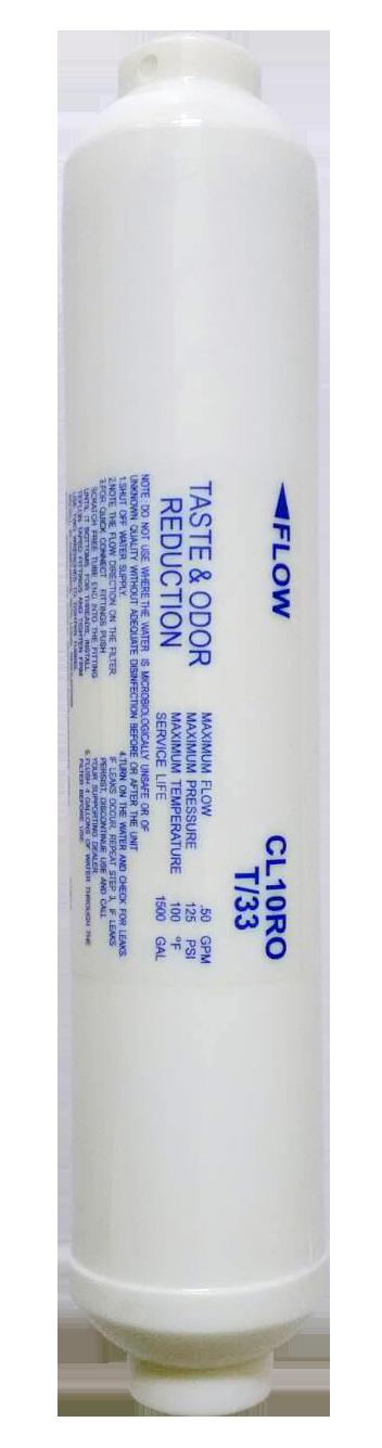 【哇哇蛙】凌科抗菌銀活性碳濾芯(RO機-第4道) (建議12-18個月或視水量變小更換) 濾淨 變化水質