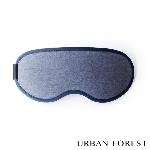 URBAN FOREST都市之森 花卷-旅行眼罩(星空藍)