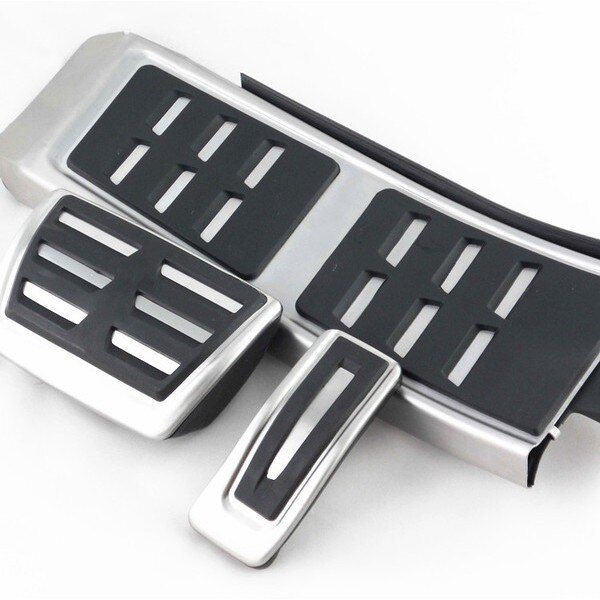 奧迪A4 煞車+油門+休息踏板 A5/A6/A7/A8/Q5/Q7/S5/S6 三件套裝組