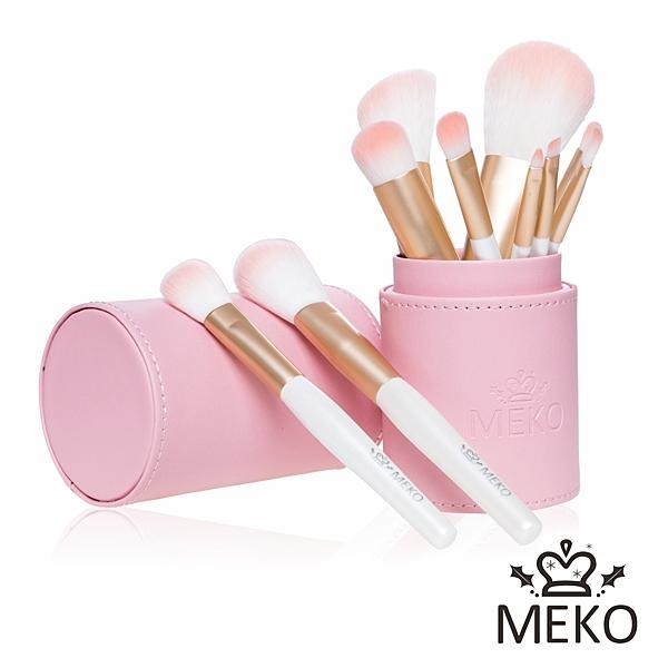MEKO PINK粉嫩彩妝刷具十件組