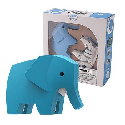 HALFTOYS哈福玩具 3D動物世界:大象 (ELEPHANT) Unicorn