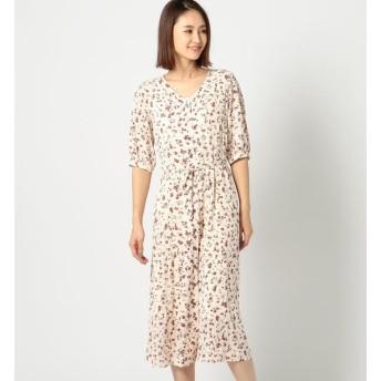 【ミューズ リファインド クローズ/MEW'S REFINED CLOTHES】 前開きボタン5分ワンピース