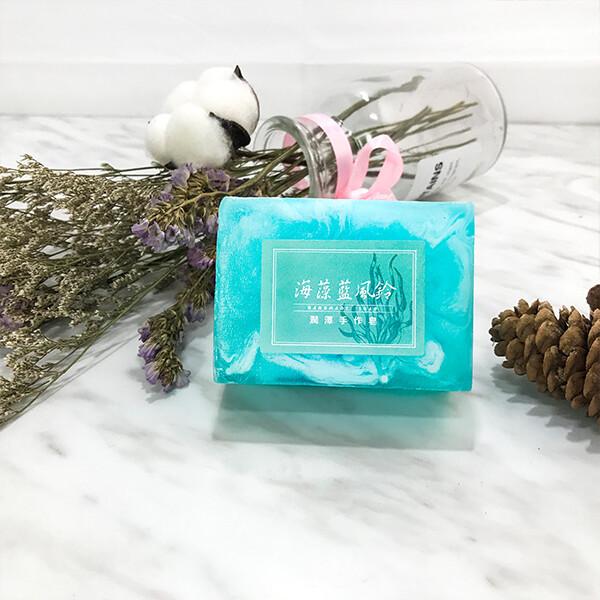 源森活-身體沐浴系列-海藻藍風鈴潤澤沐浴皂 160g/個