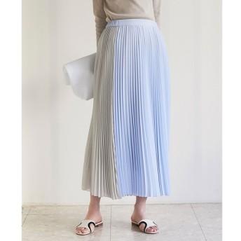【ガリャルダガランテ/GALLARDAGALANTE】 コンビプリーツスカート