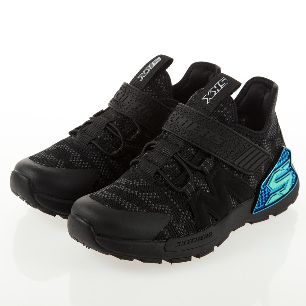 SKECHERS 男童運動鞋 KINECTORS 97676LBKCC