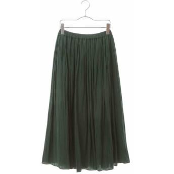 HIROKO BIS/ヒロコビス 【洗濯機で洗える】カッセンデシンエアフロースカート グリーン 09