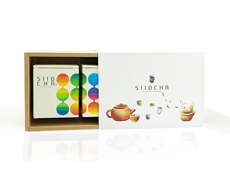 【Pinkoi獨家販售】2021端午禮品推薦 窨香食茶禮盒 優雅別緻包裝