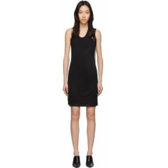 ヘルムート ラング Helmut Lang レディース ワンピース タンクドレス ワンピース・ドレス Black Asymmetric Tank Dress Black