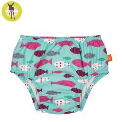 德國LASSIG-嬰幼兒抗UV游泳尿布褲-童趣小丑魚