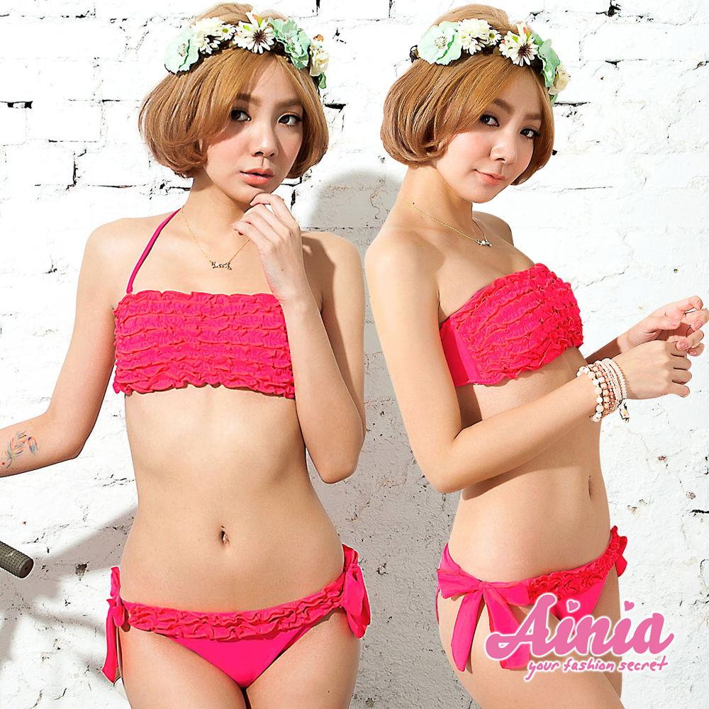【首購免運費】今日戀曲 豐胸顯瘦迷人比基尼 M-XL AINIA