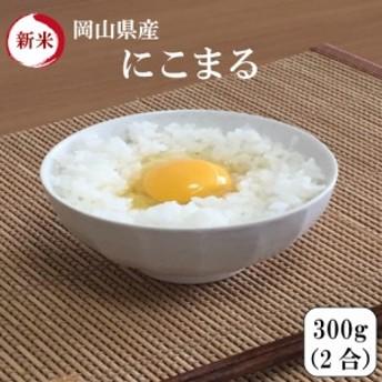 新米 ポイント消化 300g 送料無料 300 g 食品 米 お試し 令和元年産 岡山県産にこまる 300g(2合)1kg未満 代金引換不可