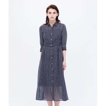 (LOVELESS WOMEN/ラブレス)◆◆シアーストライプ ドレス/レディース ネイビー