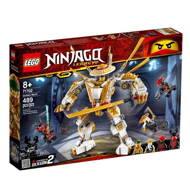 樂高 LEGO 旋風忍者系列 LT71702 黃金機械人