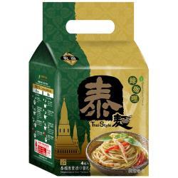 【稑珍】泰麵-綠咖哩 乾/湯 拌麵(150公克x4包)