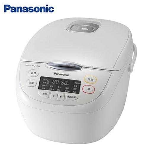 【Panasonic 國際牌】6人份微電腦電子鍋 SR-JMN108