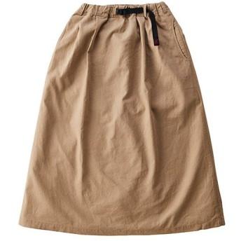 グラミチ(GRAMICCI) レディース リネンコットンロングフレアスカート LINEN COTTON LONG FLARE SKIRT ベージュ GLSK-20S035 カジュアルウェア ロングスカート