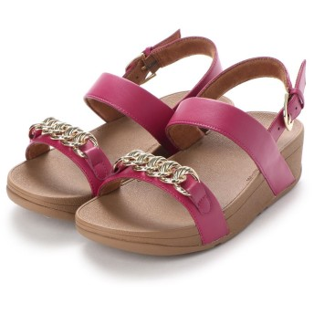 フィットフロップ fitflop LOTTIE CHAIN BACK-STRAP SANDALS (Fuchsia)