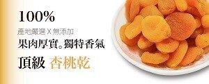 【大連食品】加州杏桃乾 (370G/包)