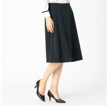 【COMME CA:スカート】コンパクトポンチセミフレアスカート