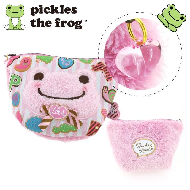 pickles the frog 萌蛙匹克 甜蜜系列 收納袋