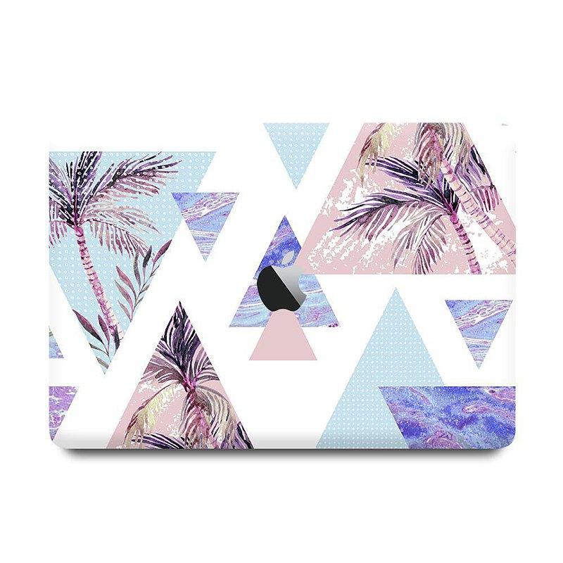 Slick Case 香港 | Triangular Palm Tree MacBook 保護殻