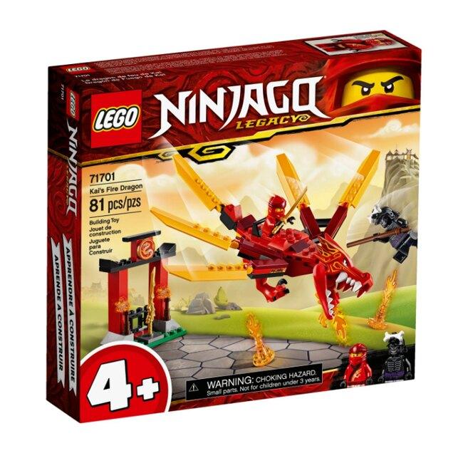 樂高 LEGO 旋風忍者系列 LT71701 赤地的火龍