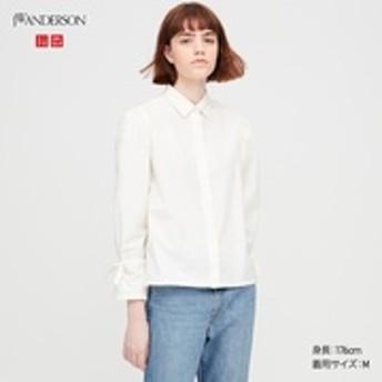 ギャザースリーブシャツ(長袖)
