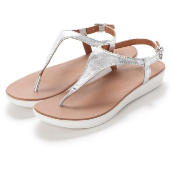 フィットフロップ fitflop LAINEY TOE-THONG BACK-STRAP SANDALS (Silver)