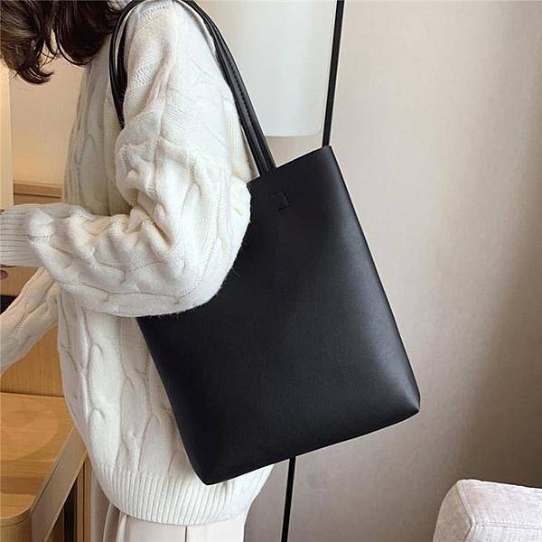托特包女 2020流行女包新款包包韓版潮流女包單肩包大容量高級感 艾維朵