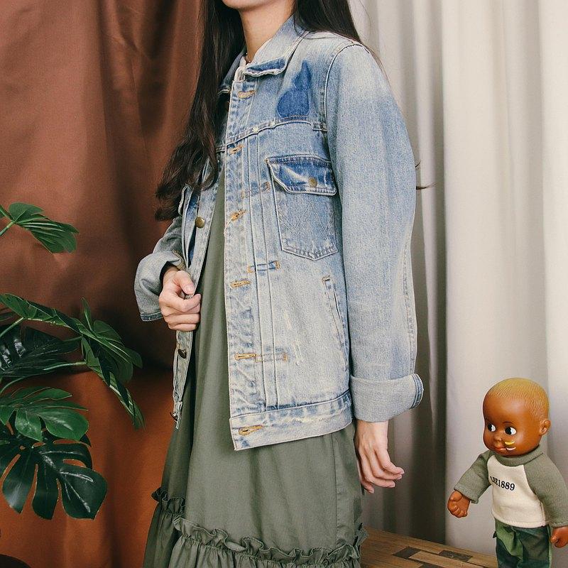 古著牛仔外套005,藍色 denim 夾克【Tsubasa.Y 古著屋】