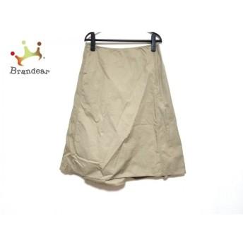 ソフィードール SOFIE D'HOORE ロングスカート サイズ38 M レディース 美品 ベージュ 新着 20200325