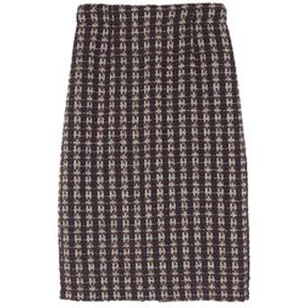 新規会員登録で3,000円OFF!【ur's:スカート】ツイードタイトスカート