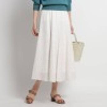 【洗える】プチプリントフレアスカート