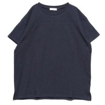 ジーラ GeeRA 綿100%フットボールTシャツ (ネイビー)