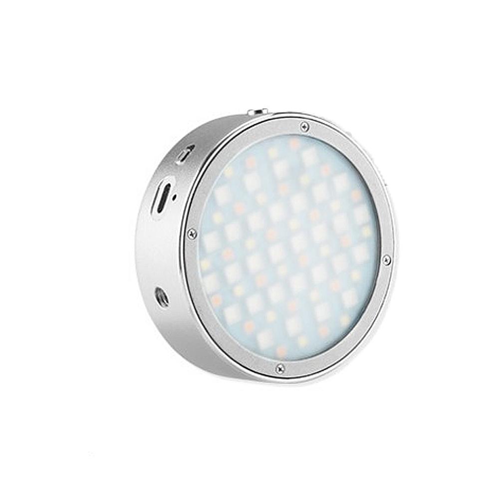 Godox 神牛 R1 圓形RGB迷你創意 雙色溫 LED燈 攝影燈 補光燈 磁吸(公司貨)