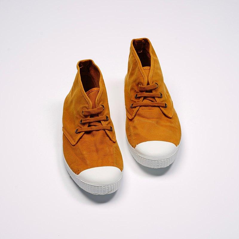 西班牙帆布鞋 CIENTA 60777 43 土黃色 洗舊布料 大人 Chukka